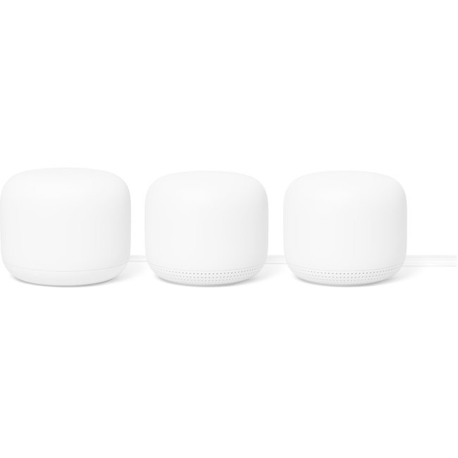 Google Nest Wifi 3-Pack (Snow)