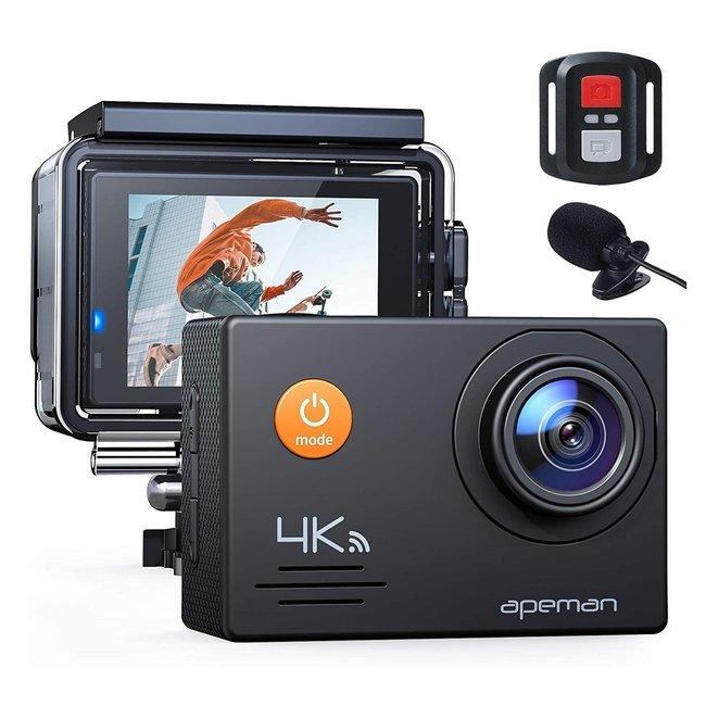 Apeman Caméra Sport 4K