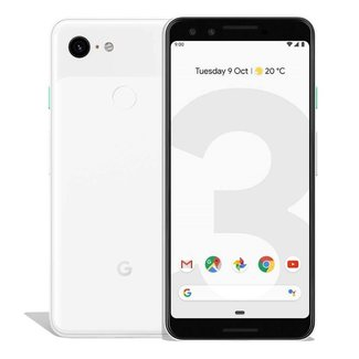 Google Pixel 3, 64GB, Clearly White