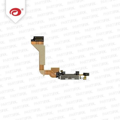 Apple iPhone 4 System Connector + Flex Cable black