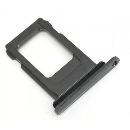 iPhone XR simtray zwart