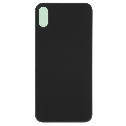 iPhone X Back cover zwart