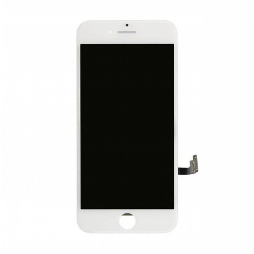 PartsFix iPhone 8 Plus Display + Touchscreen + Metal Plate High Quality - Wit
