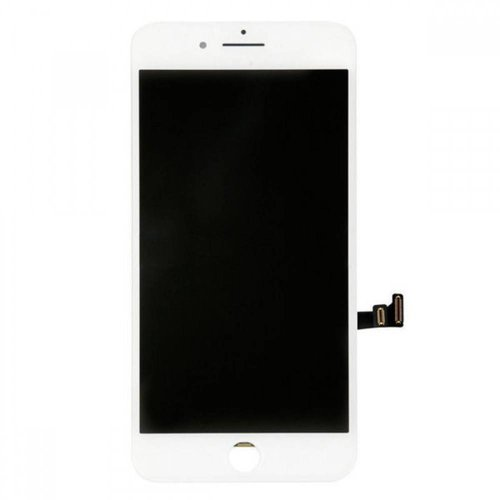 PartsFix iPhone 8 Display + Touchscreen + Metal Plate High Quality - Wit