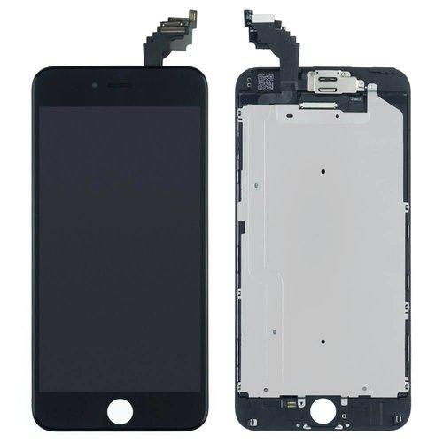 PartsFix iPhone 6 Plus Display + Touchscreen + Metal Plate High Quality - Zwart