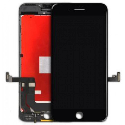 PartsFix iPhone 7 Plus Display + Touchscreen + Metal Plate High Quality - Zwart