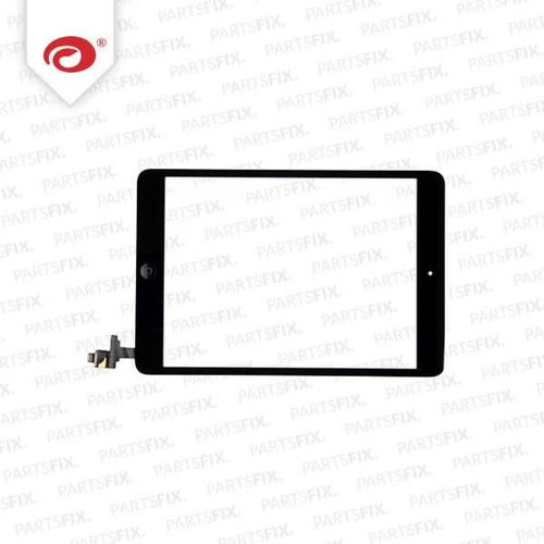 iPad mini Touchscreen complete with home button end IC Unit black