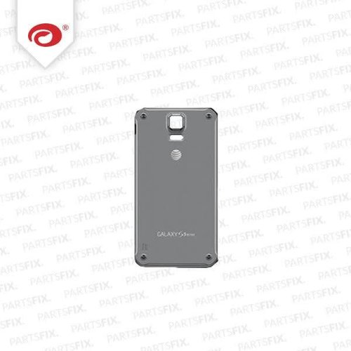 Galaxy S5 active back cover (grijs/wit)