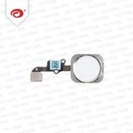 iPhone 6 Home Button Silver (Touch ID)