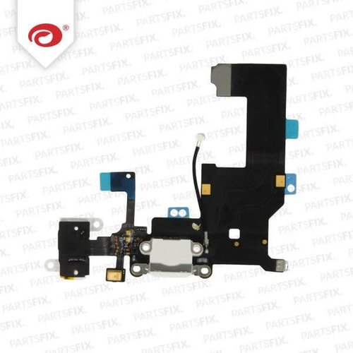 iPhone 5 System Connector + jack Flex Cable White