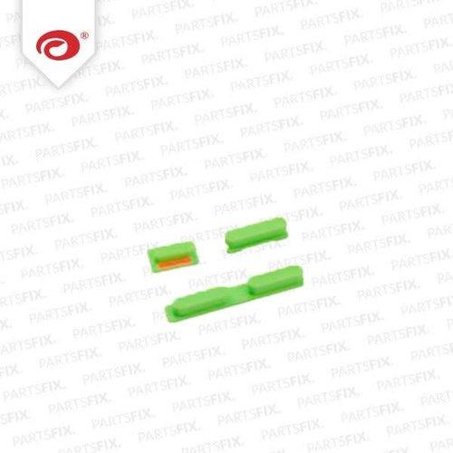 iPhone 5C Knoppenset Groen