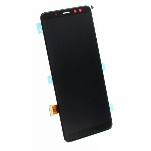 Samsung A8 A530 Display Unit Compleet Zwart