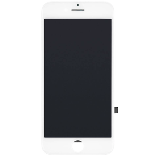 Apple iPhone 7 Display + Touchscreen + Metal Plate, In Cell - Wit