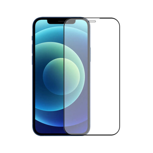 Tempered Lion iPhone 12 5D Full Cover Tempered Glass Protector