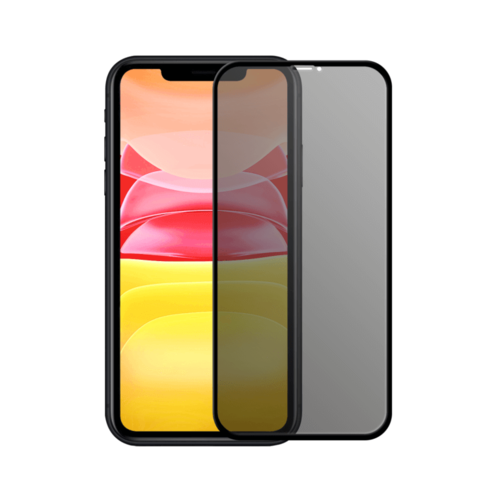 Tempered Lion iPhone 11 Privacy 5D Full Cover Tempered Glass Protector
