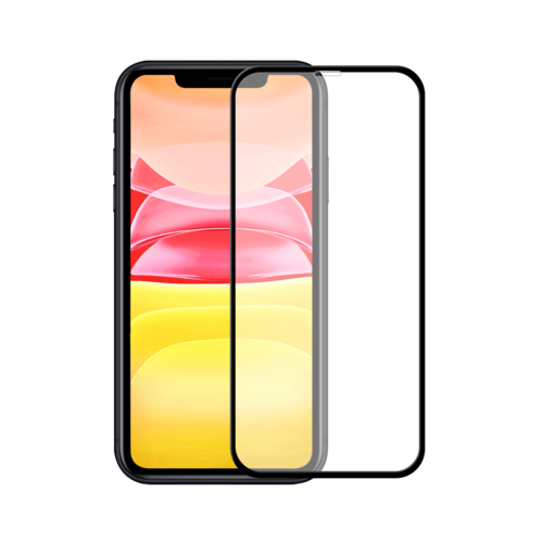 Tempered Lion Duo-Pack iPhone 11 5D Full CoverTempered Glass Protector