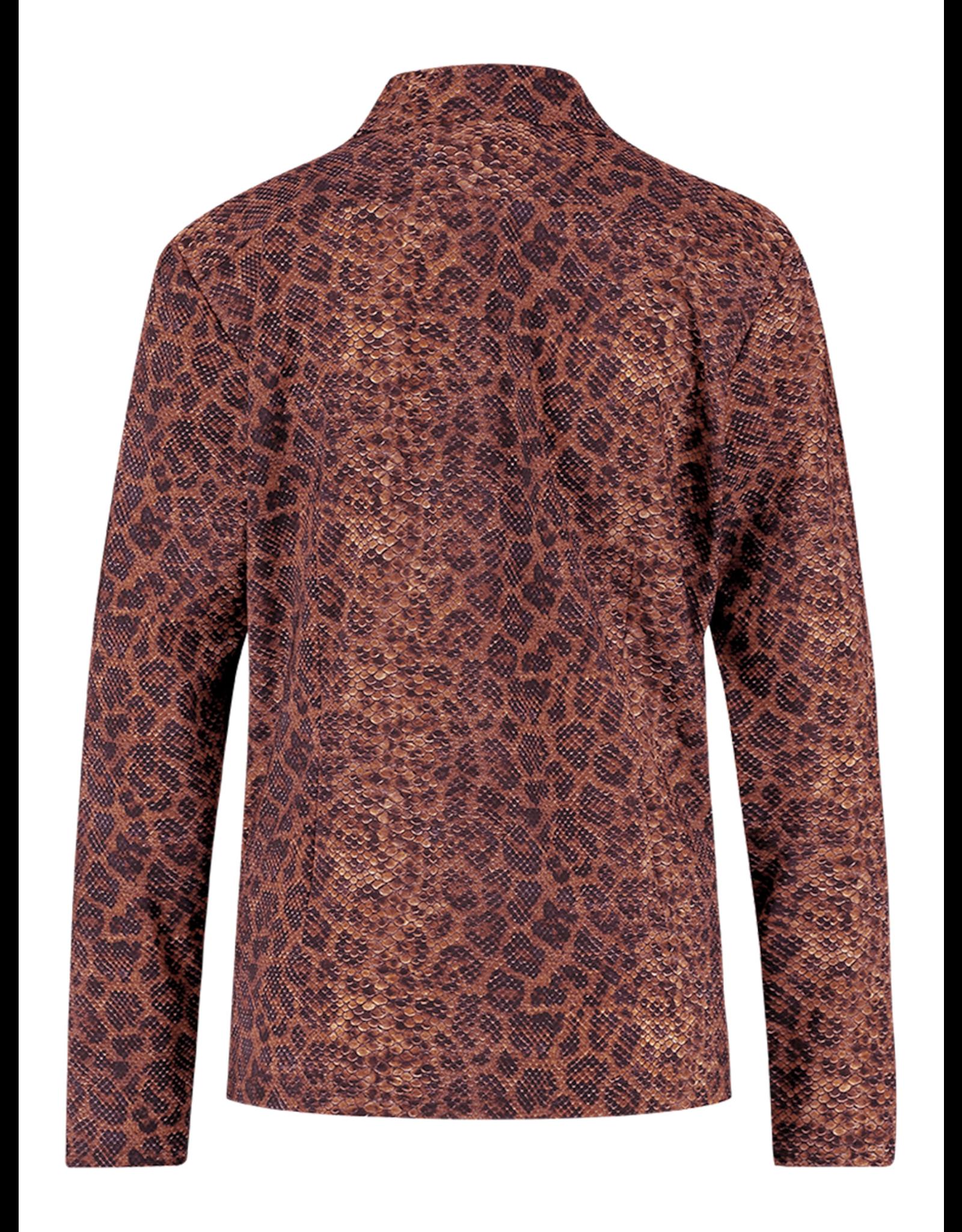 Studio Anneloes Poppy blouse met slangenprint