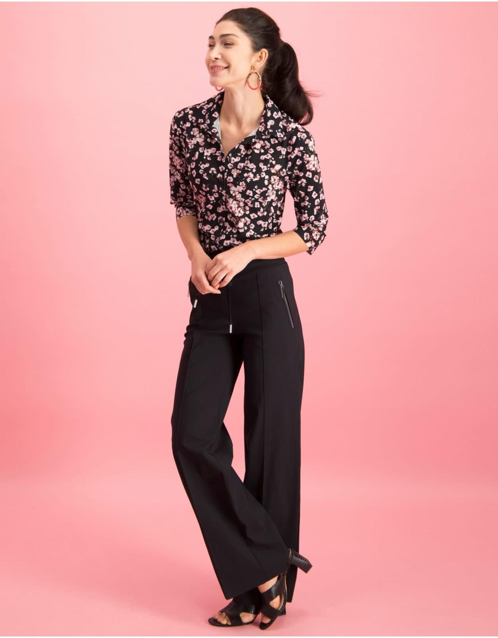 Jane Lushka Debbie black and bloom UPF720SS10