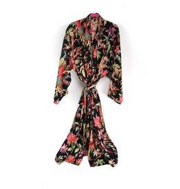 Imbarro Paradise kimono satijn