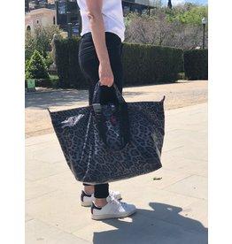 All-time Favourites shopper S leopard zwart