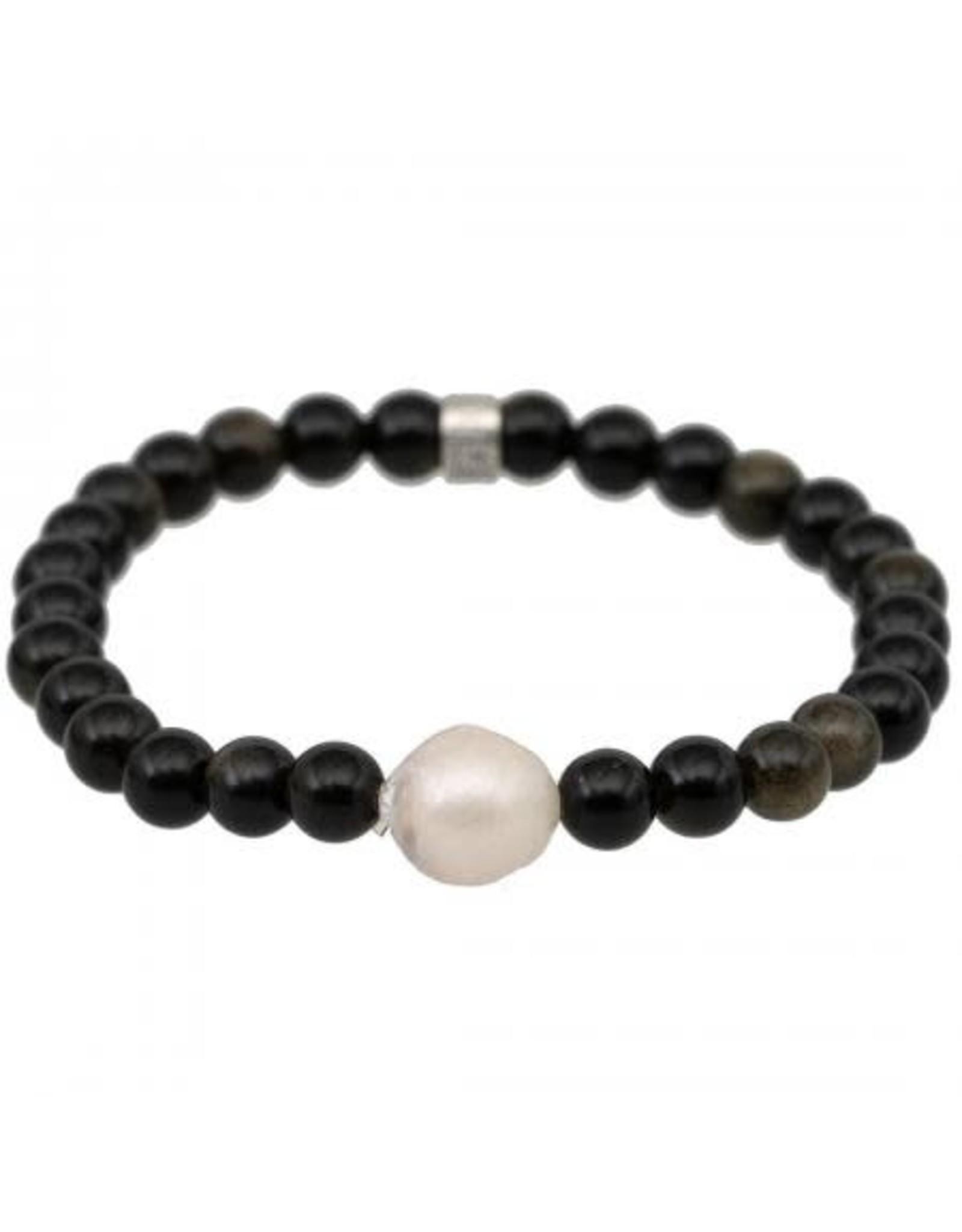 Pimps and Pearls Pimps armband Mala