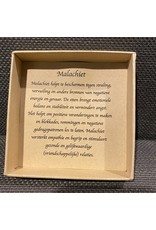 Wensarmbandje Malachiet