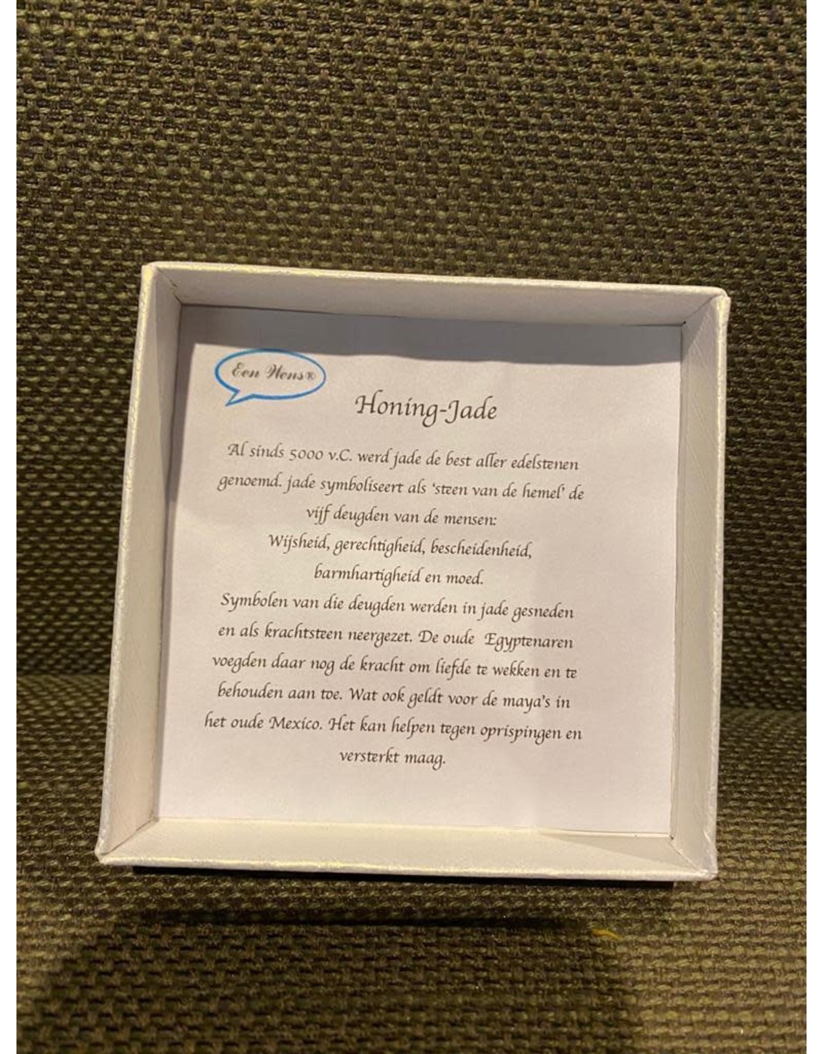 Wensarmband Honing-Jade