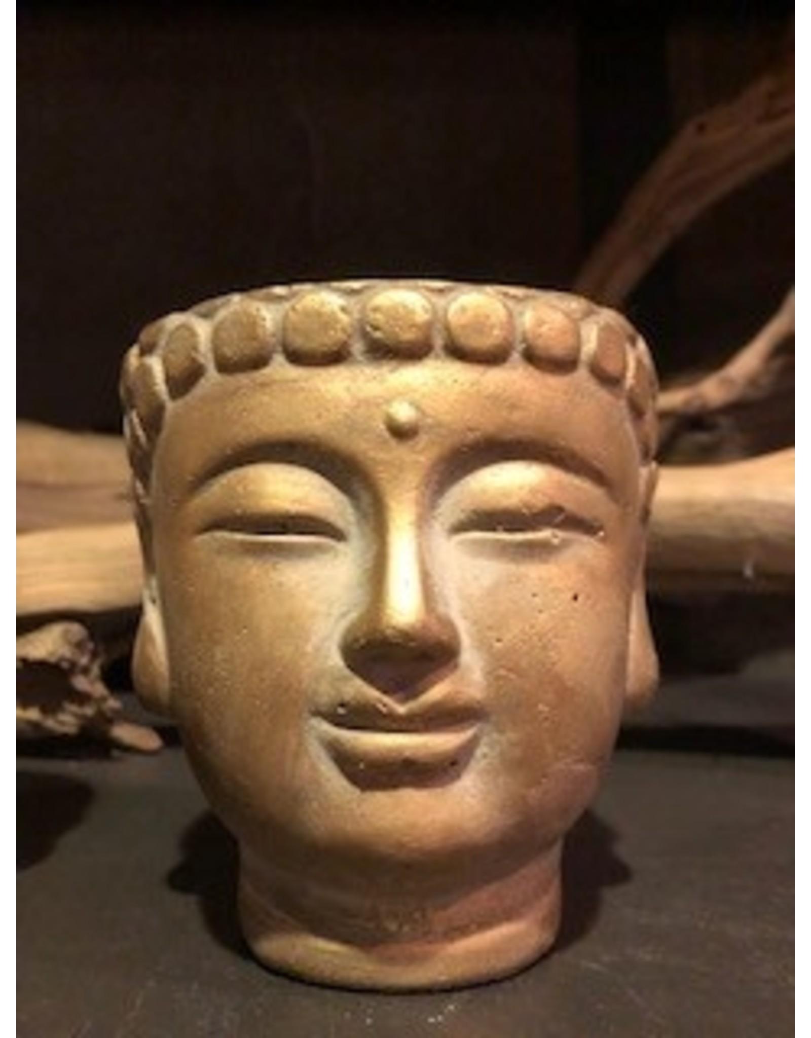 buddha hoofd potje klein