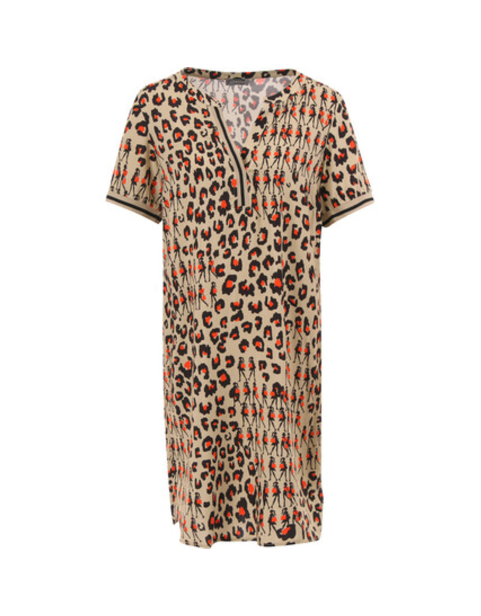 Geisha Jurkje leopard shopper