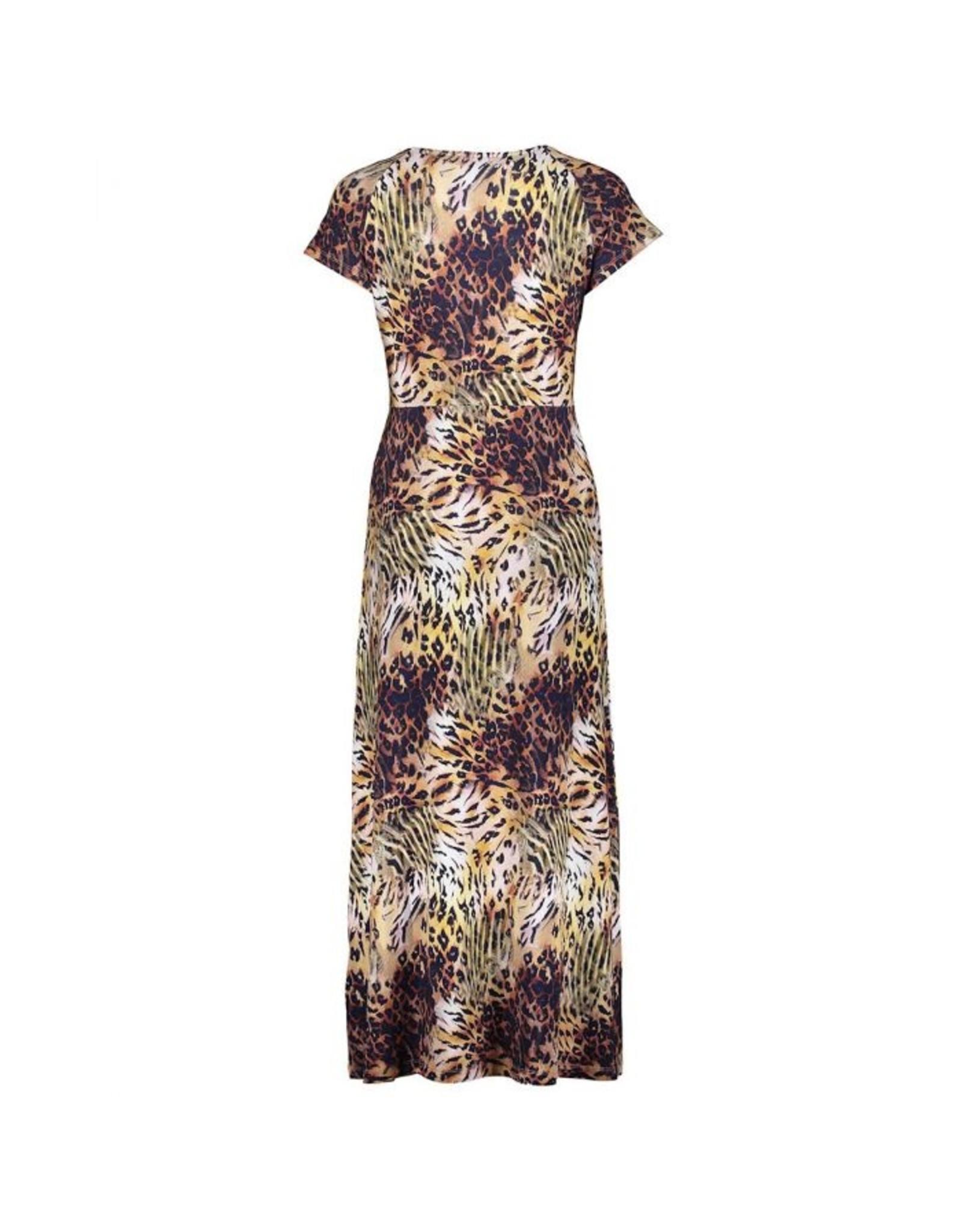 Geisha Lange jurk JANE tijger  901