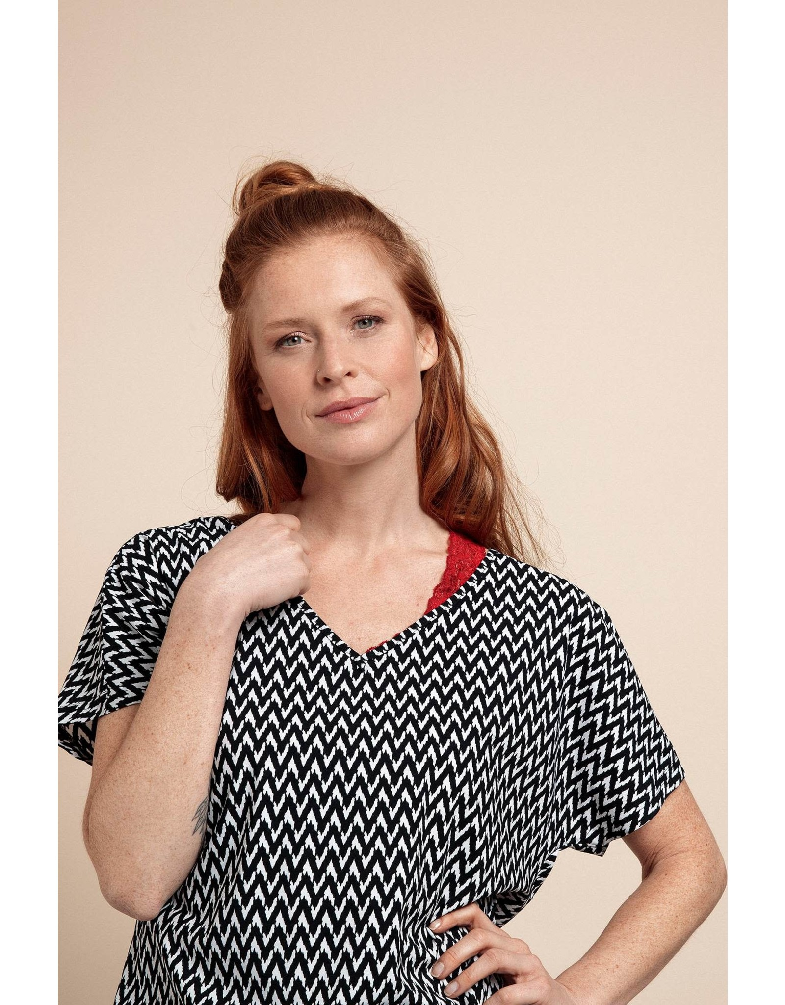 Studio Anneloes T-shirt MADE zigzag