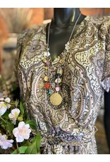 Jazu jewellery ketting SC312 roze