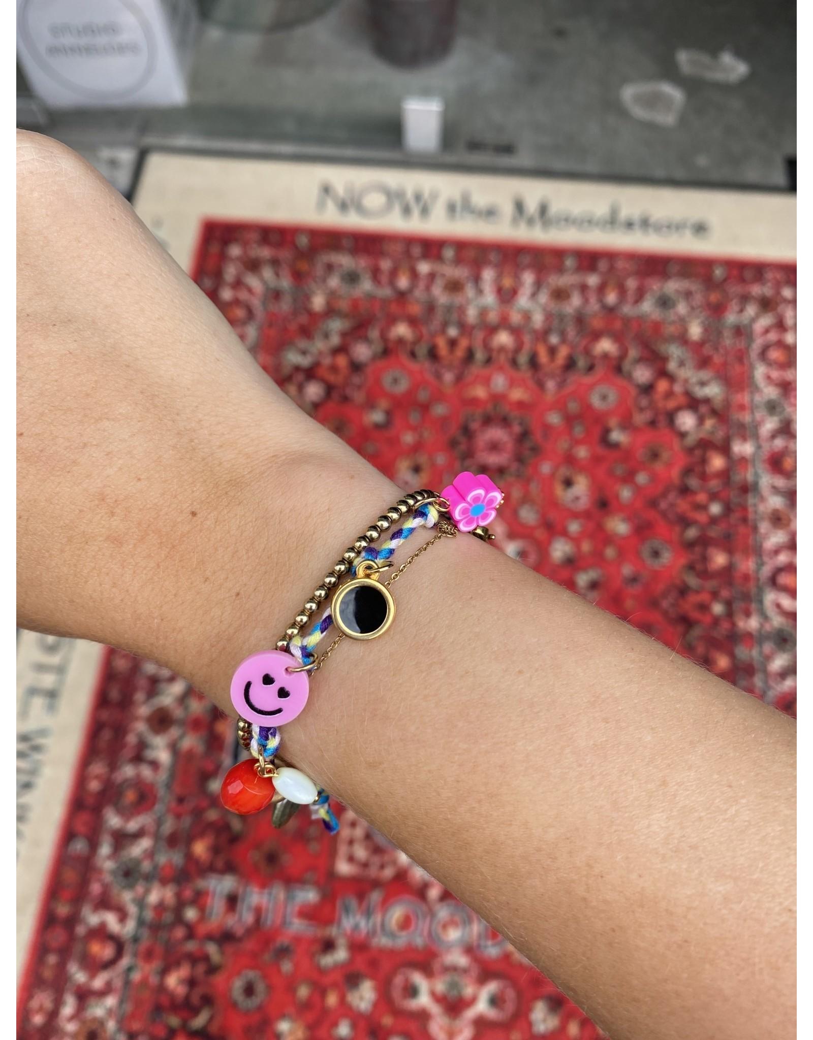Jazu jewellery armband blauw SC212
