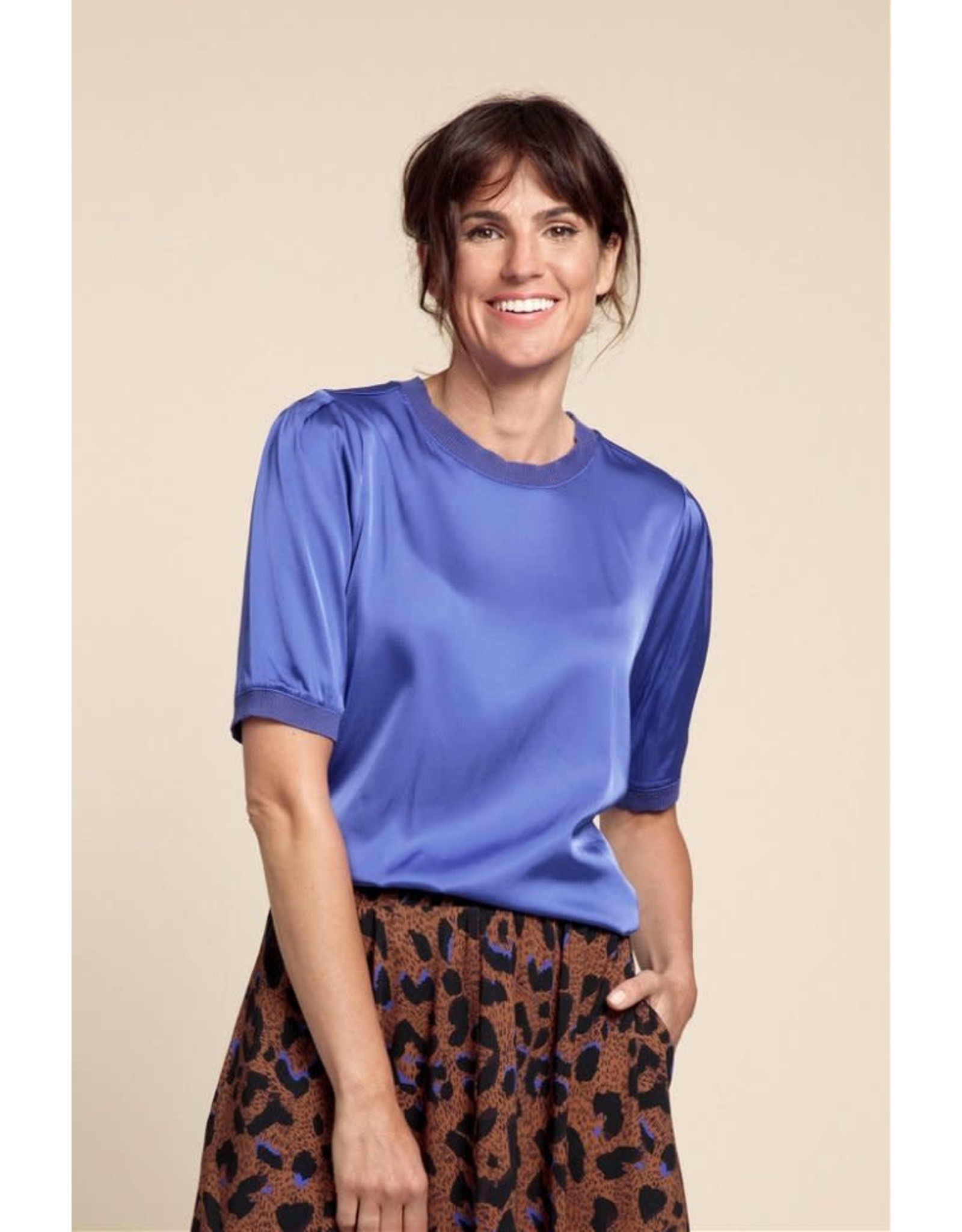 Studio Anneloes Satin shirt ELIZA