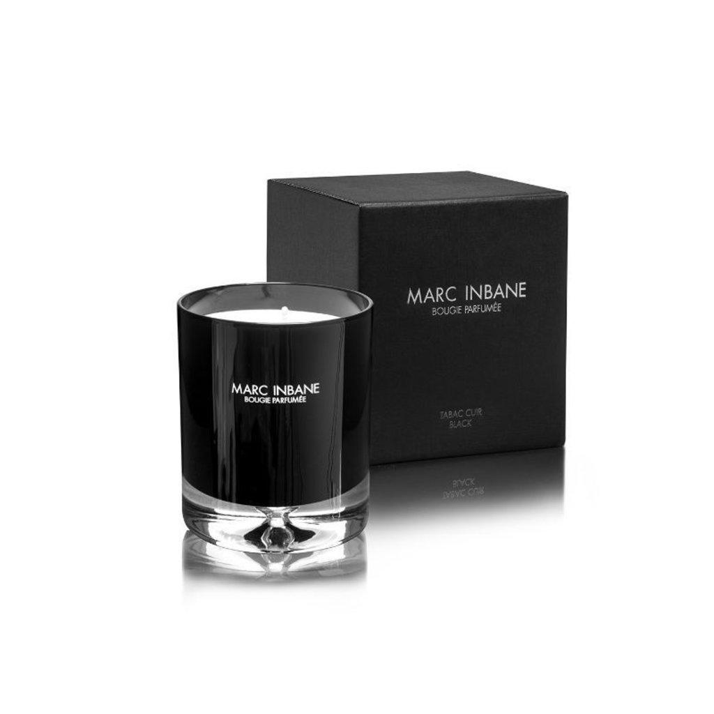 MARC INBANE Marc Inbane Bougie Parfumée Tabac Cuir | Black