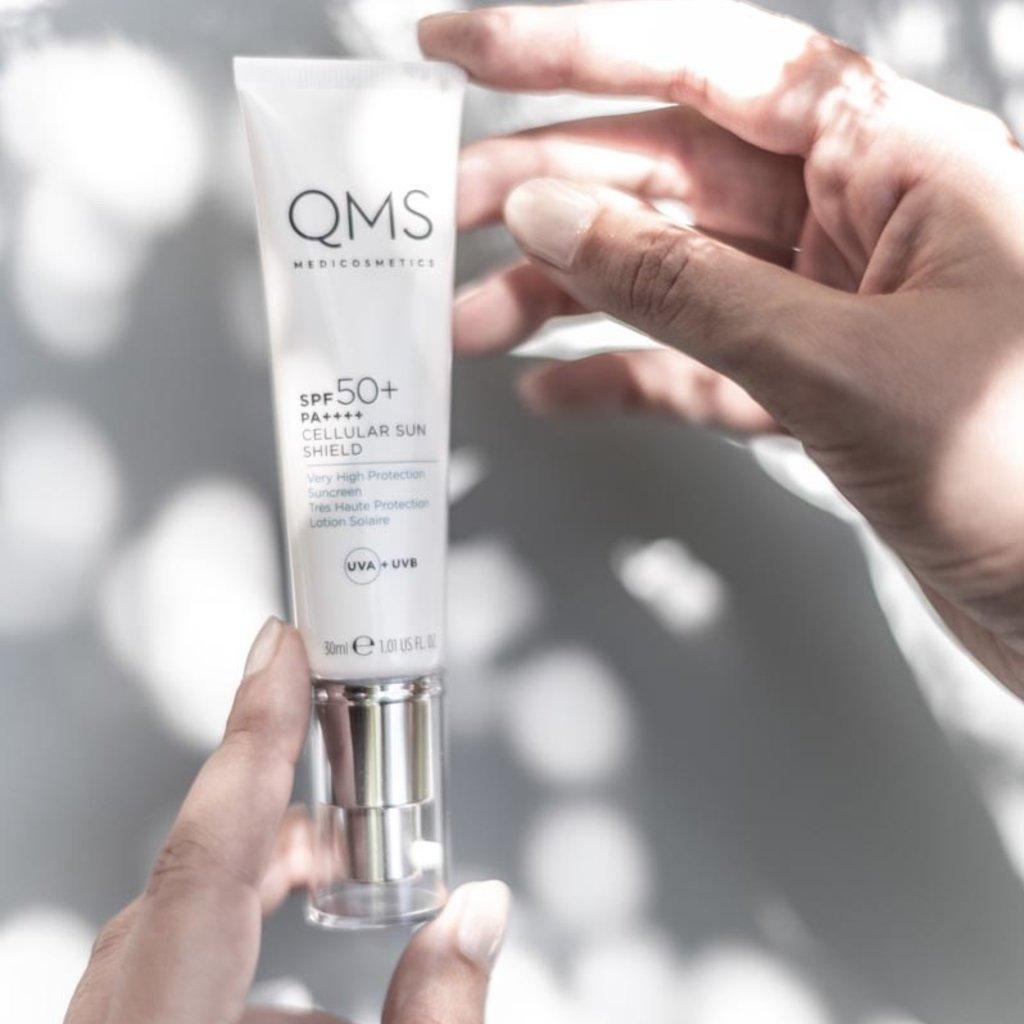 QMS  Cellular Sun Shield SPF50