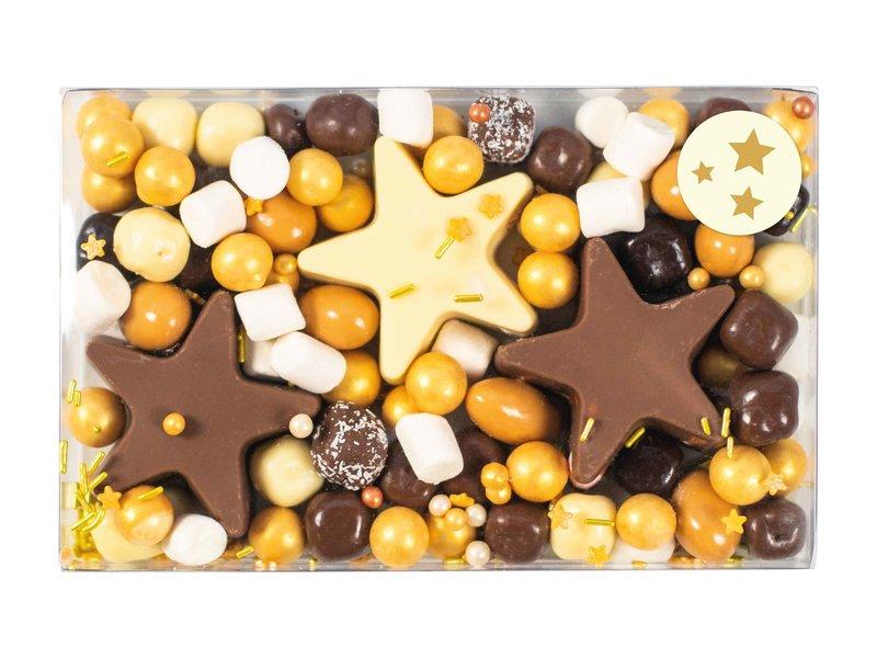 Chocolade sterren