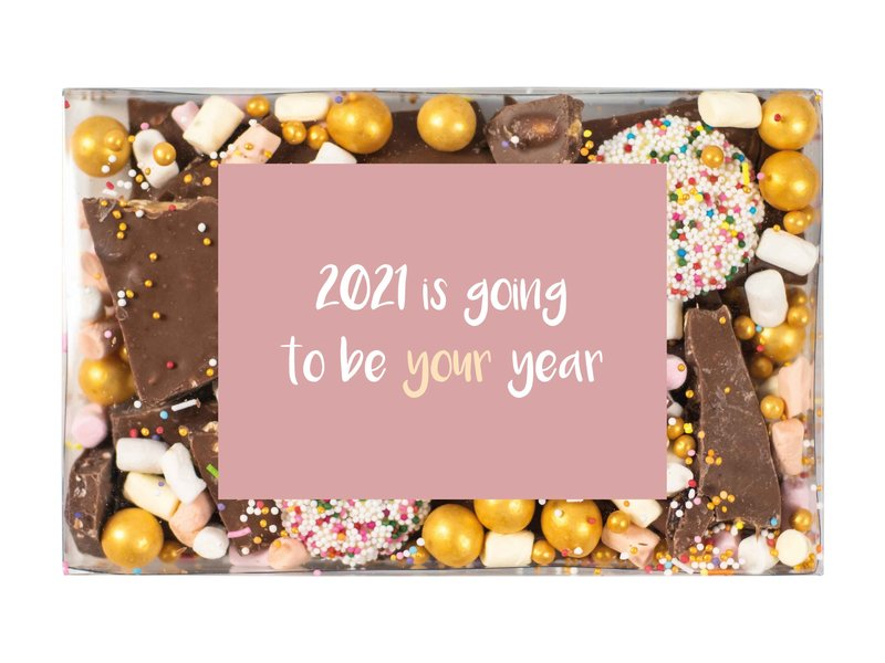 NYE Choco break: 2021 is going to be your year