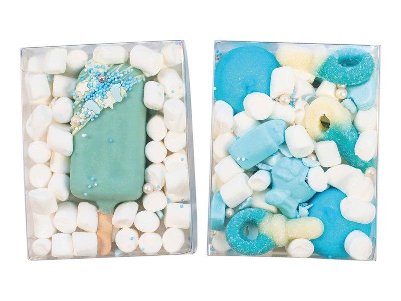 Duo setje: Cakesicle & blauwe snoepmix