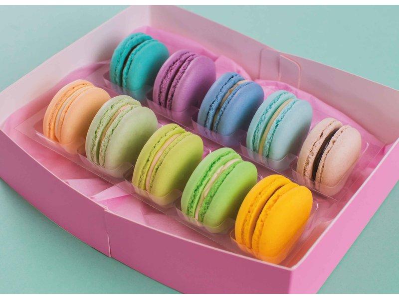 Macarons - Something blue 10 stuks