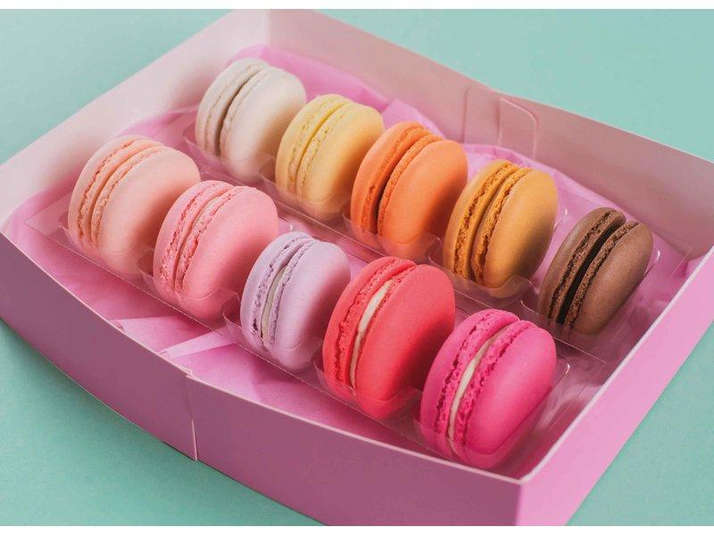 Macarons giftbox - Blush 10 stuks
