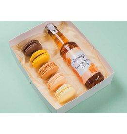 Genietmomentje - Macarons & karamel toffee  siroop