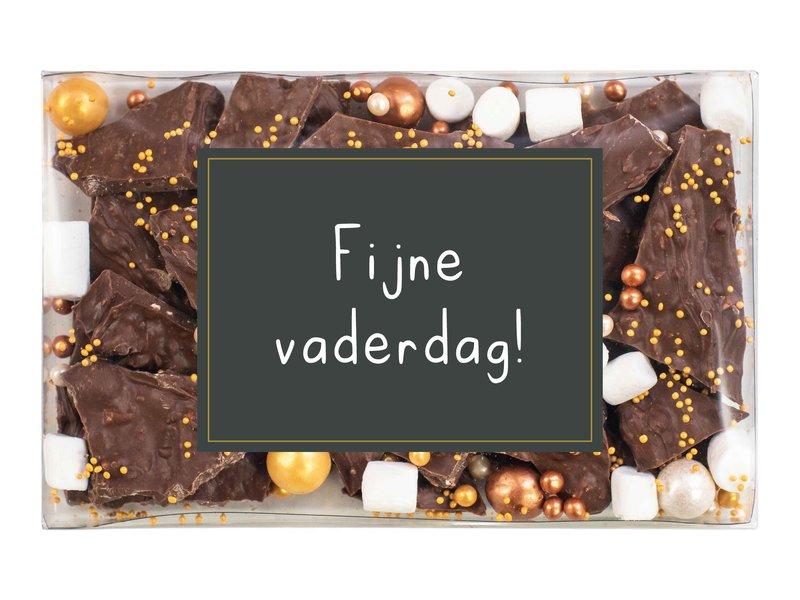 Doosje breekchocolade (opdruk naar keuze)