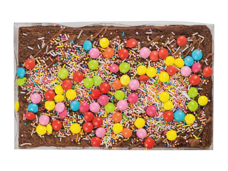 Rainbow brownie   Opdruk naar keuze