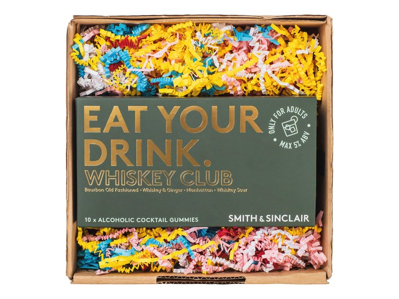 Alcoholische gummies: The Whiskey Club