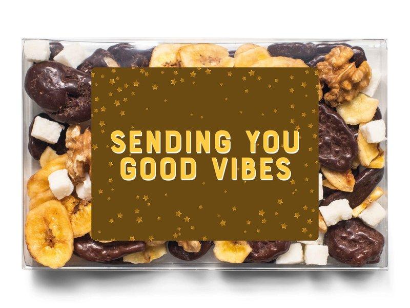 Doosje chocolade   Sending you good vibes