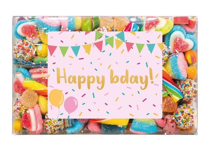 Snoepdoosje | Happy B-day
