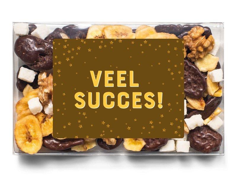 Doosje chocolade | Veel succes!