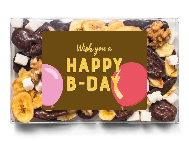 Doosje chocolade   Happy B-day