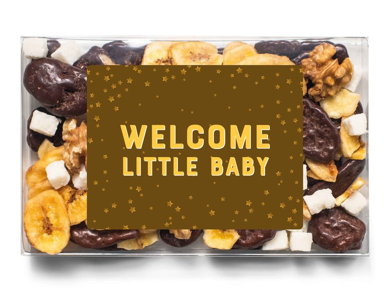 Doosje chocolade | Welcome little baby